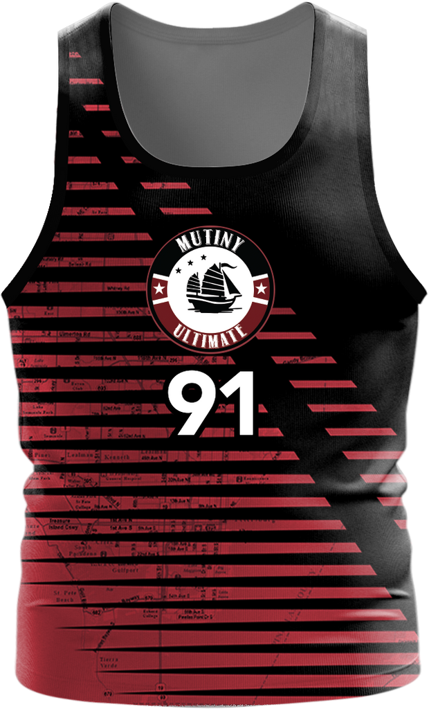 Mutiny Dark Tanktop- fabric options