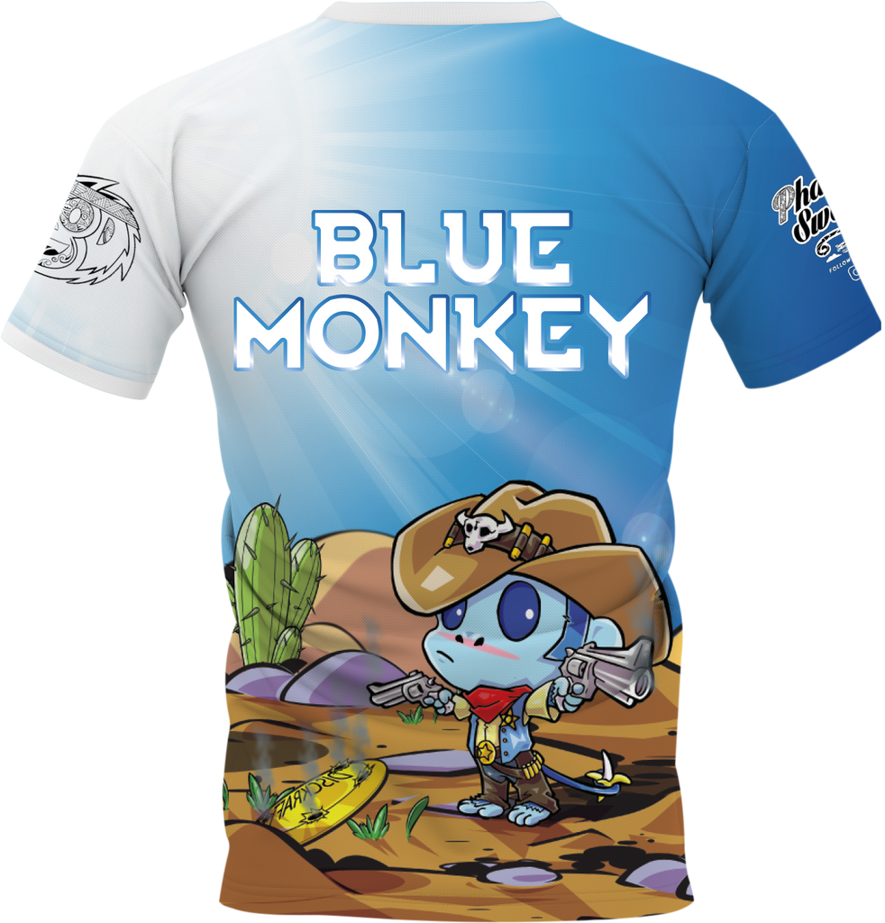 Cowboy Blue Monkey Back