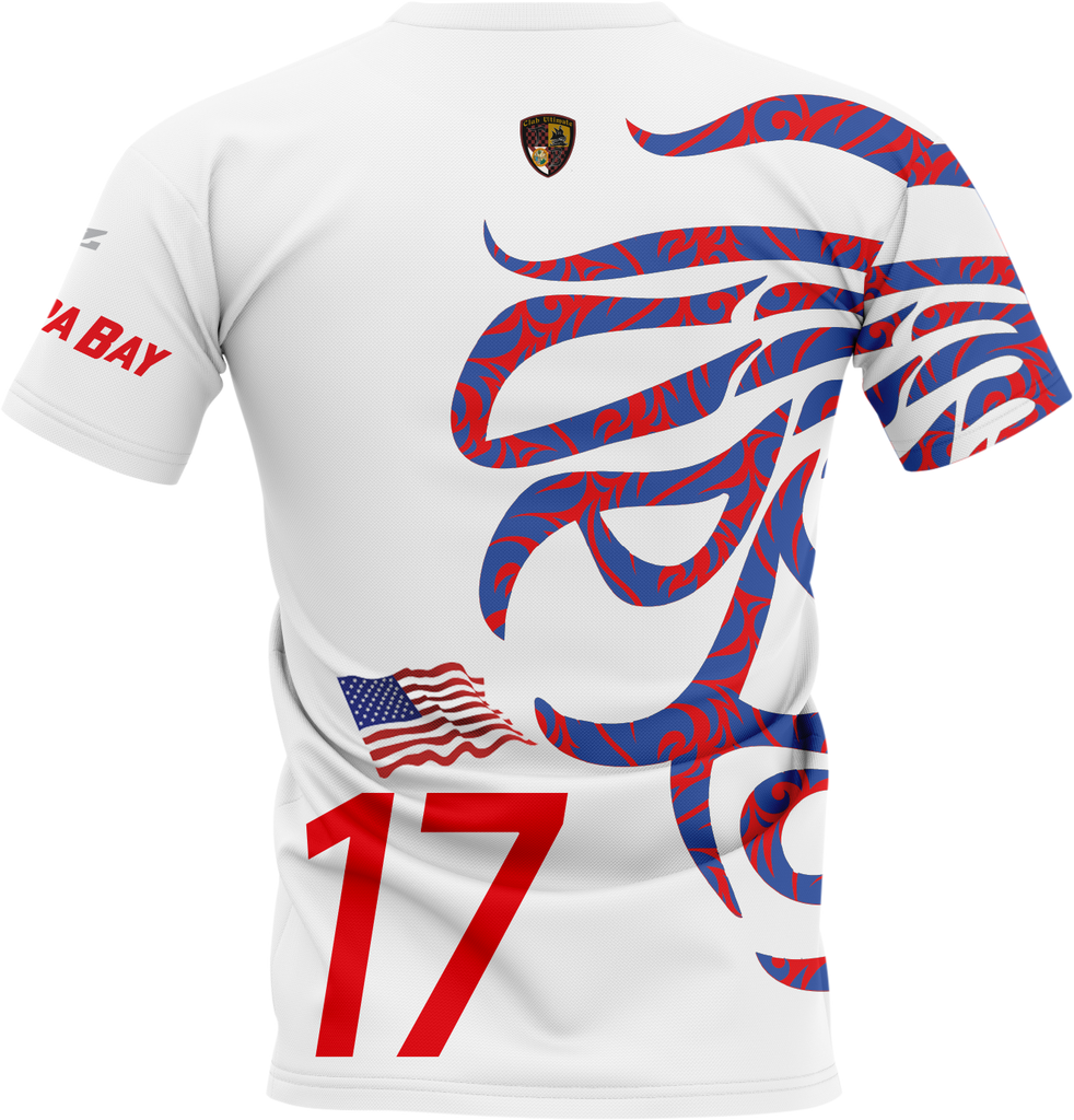 Uproar USA White Shortsleeve- fabric options