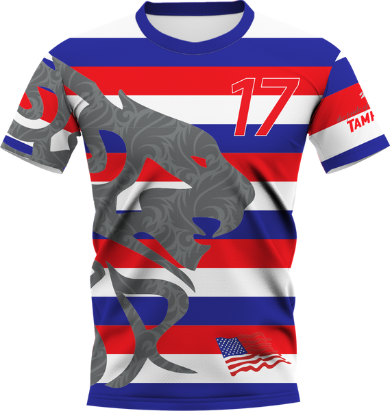 Uproar USA Stripes Shortsleeve- fabric options