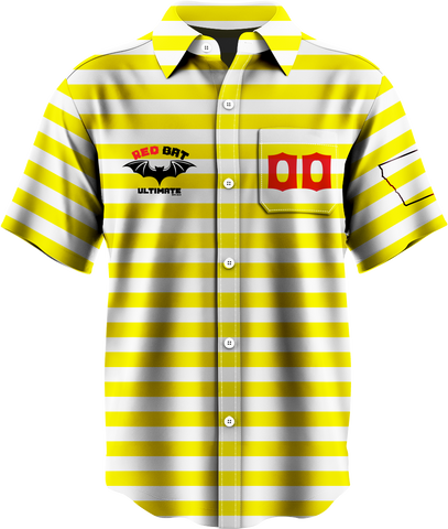 Red Bat Button Up Light Jersey