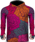 ROSE COLOR LIGHTWEIGHT SUN HOODIE
