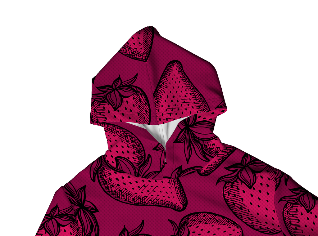 STRAWBERRY PINK LIGHTWEIGHT SUN HOODIE