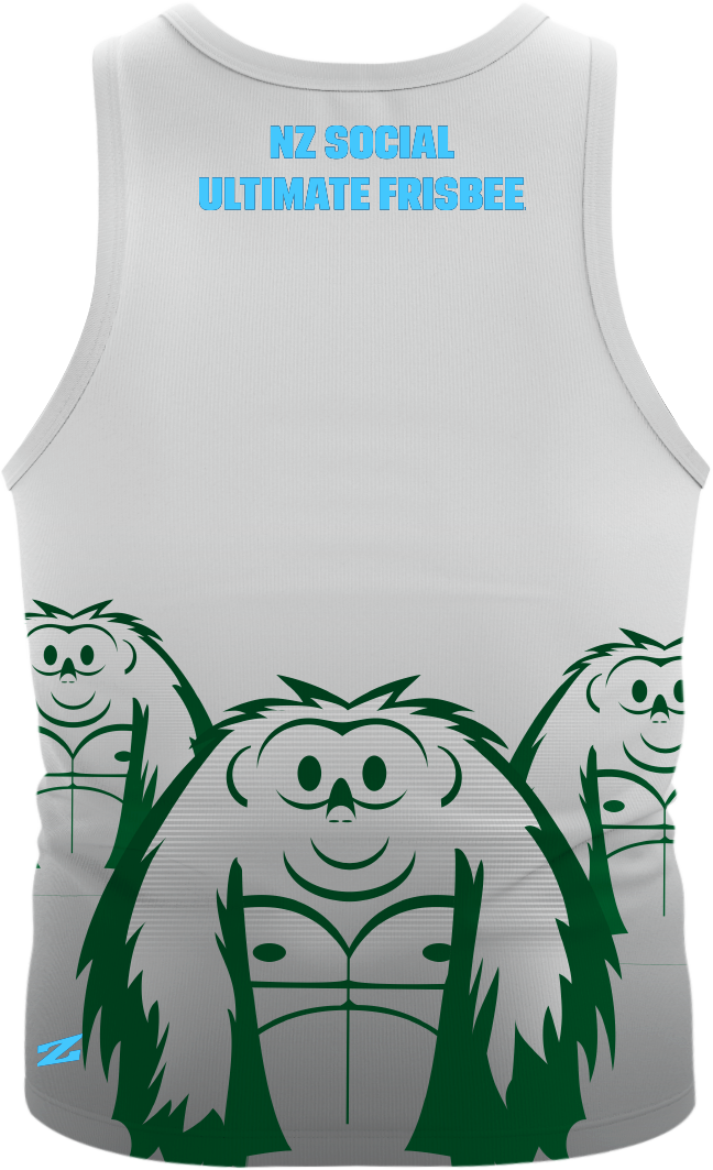 2015 Vol 1 Replica White Singlet