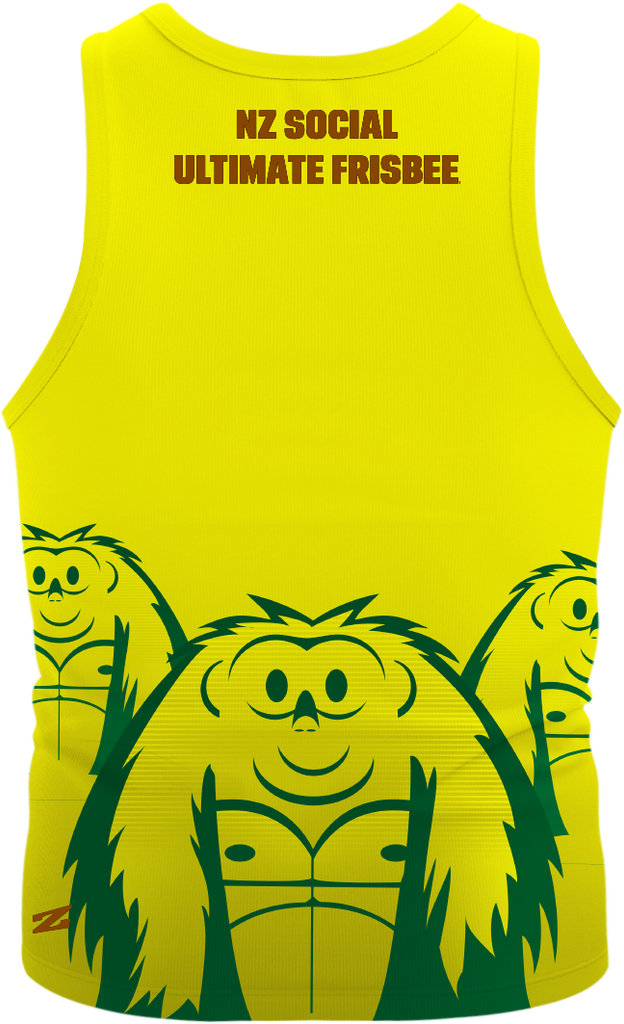 2015 Vol 1 Replica Yellow Singlet