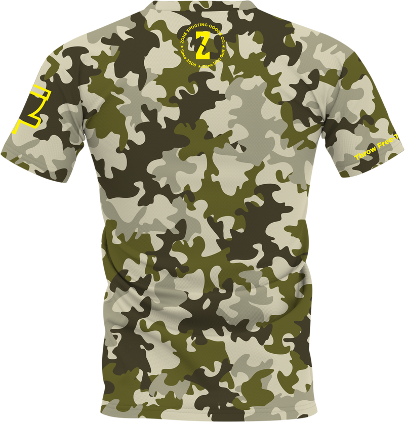 Digital Camo Disc Golf Jersey