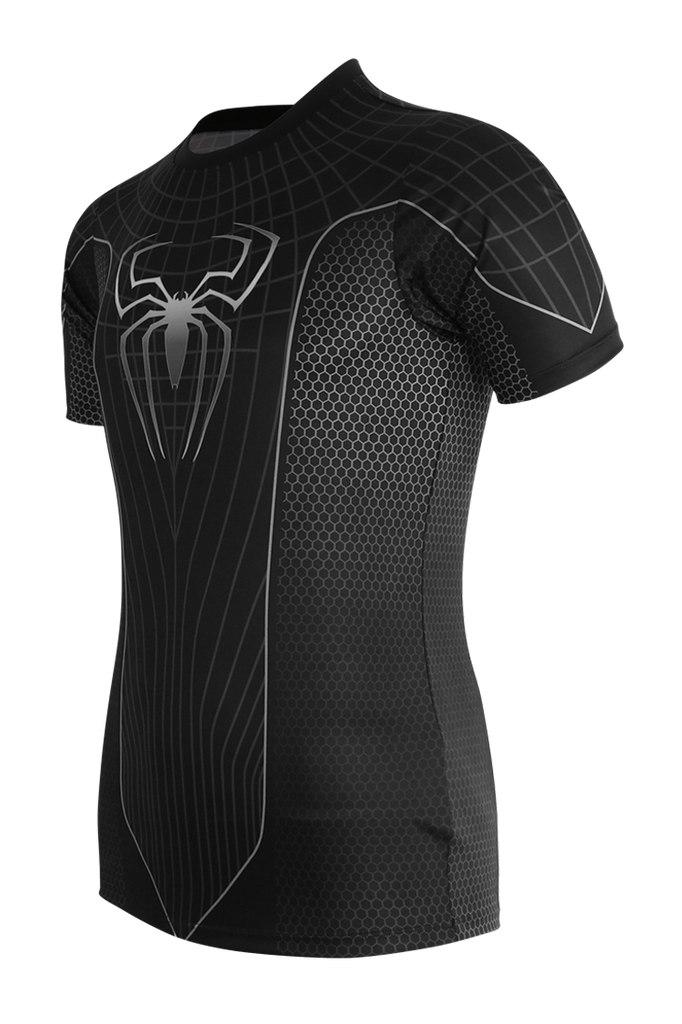 Spider Black Jersey (Available In Kids' Size)