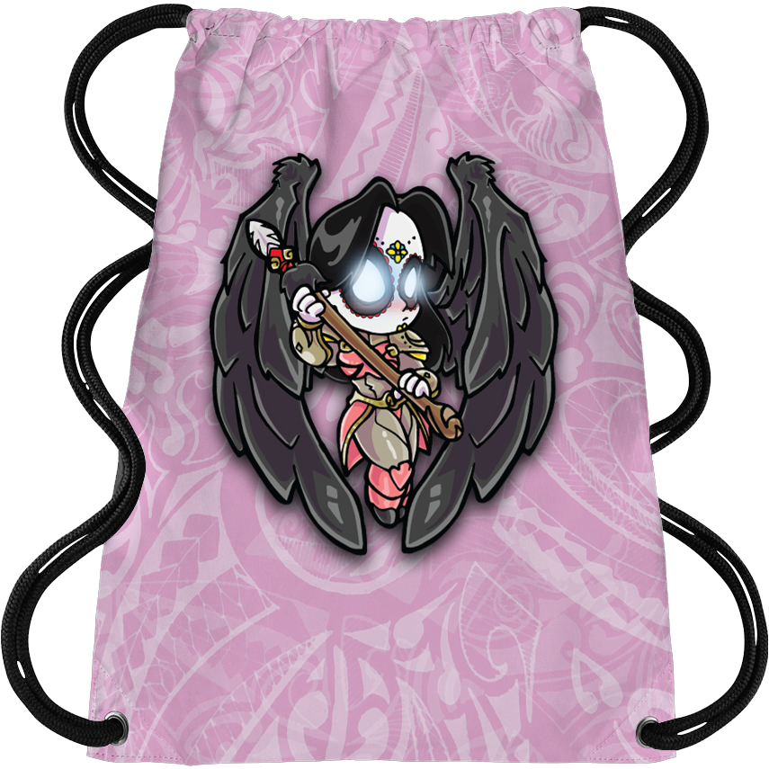 Angel Black Cleat Bag