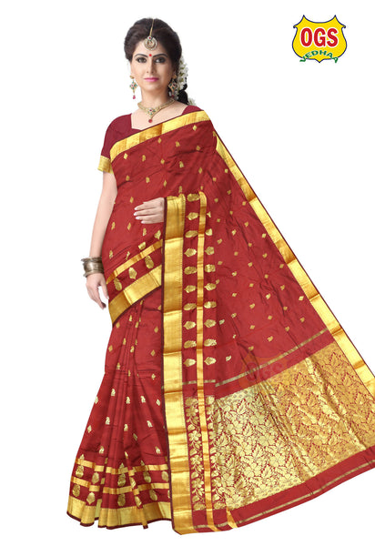 COTTON SAREE - C06