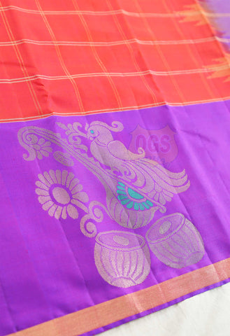 SILK SAREE BIG FANCY PUTTA SALEM SILK