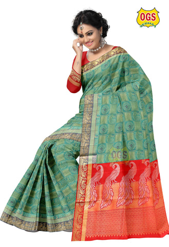 SOFT SILK SAREE - SSARA001