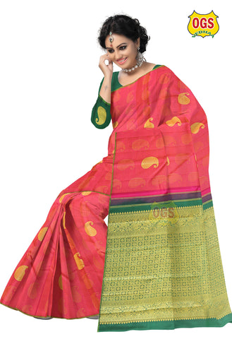 SILK SAREE BIG MANGO PUTTA SALEM SILK