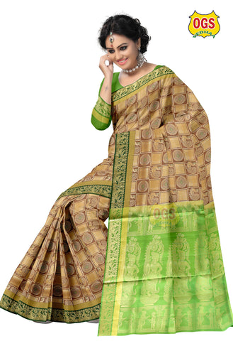 SOFT SILK SAREE - SSAB001