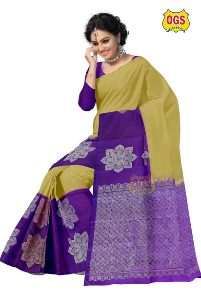 BIG BORDER PUTTA DOUBLE COLOR SALEM SILK