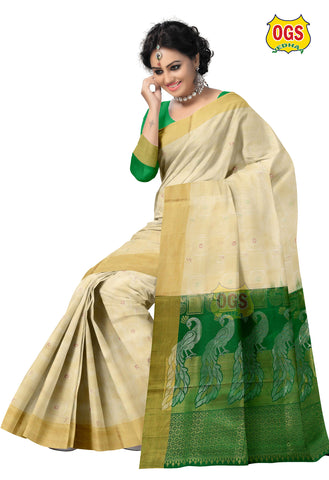 SOFT SILK SAREE - SSAW001