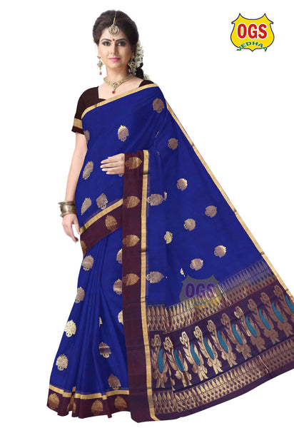 SILK COTTON SAREE - SC018