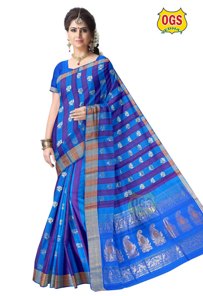 SILK COTTON SAREE - SC020