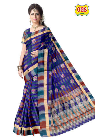 SILK COTTON SAREE - SC030