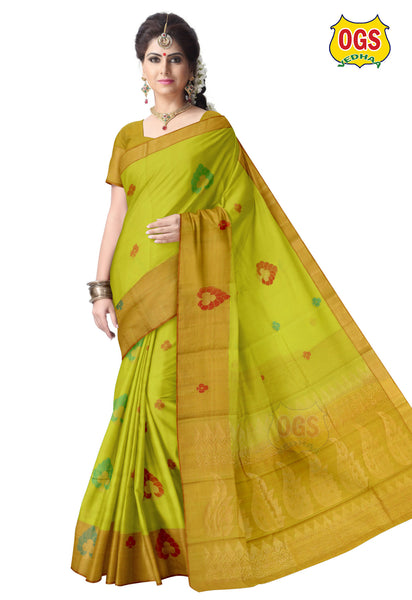 SILK COTTON SAREE - SC037