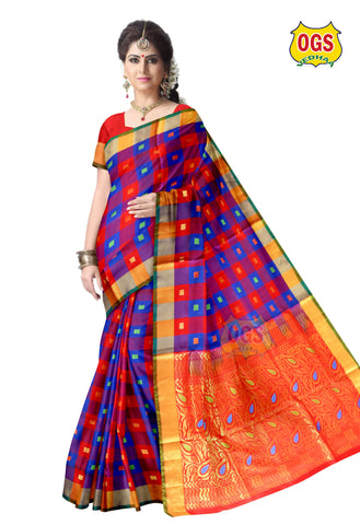 SOFT SILK SAREE - SS001