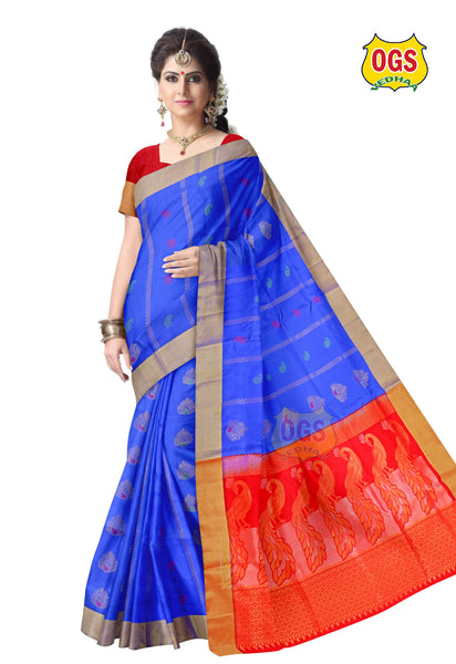 SOFT SILK SAREE - SS002