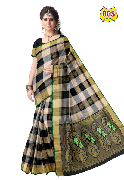 SOFT SILK SAREE - SS007