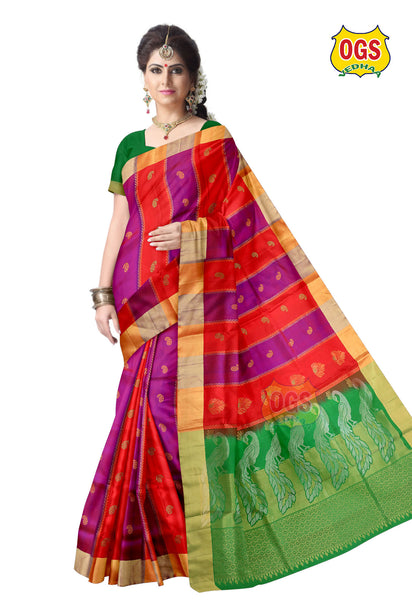 SOFT SILK SAREE - SS010