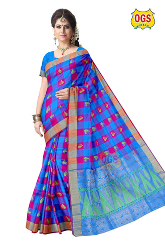 SOFT SILK SAREE - SS012