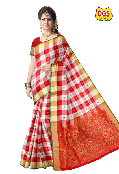 SOFT SILK SAREE - SS014