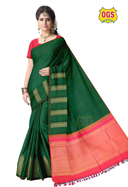 WEDDING SILK SAREE - V60