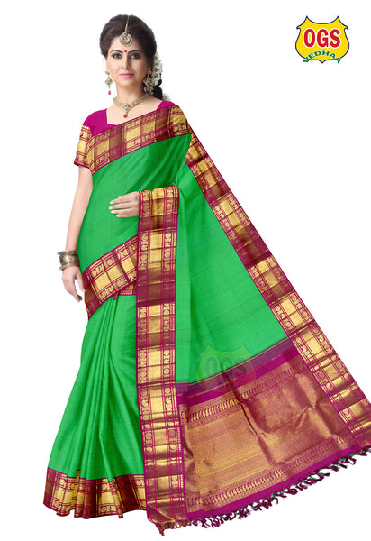WEDDING SILK SAREE - V31M