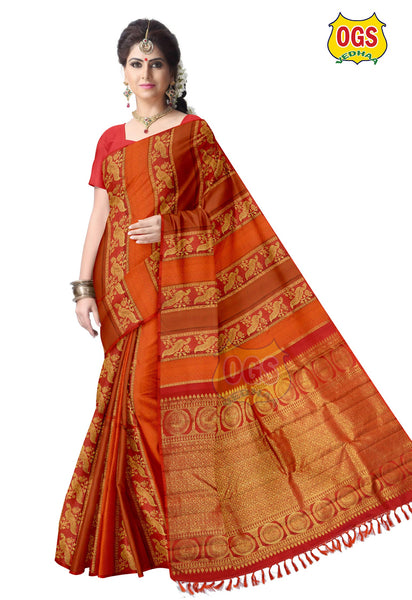WEDDING  SILK SAREE - V32A