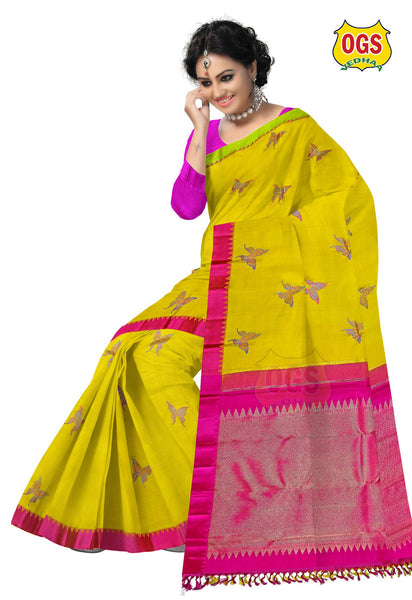 WEDDING SILK SAREE - V32C