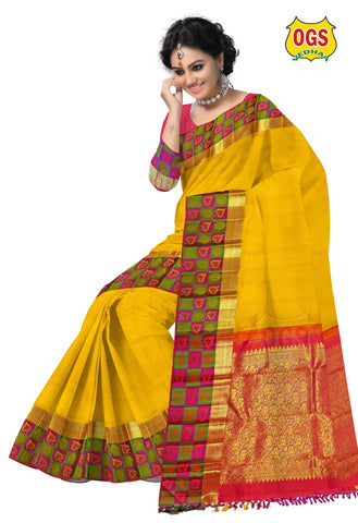 WEDDING SILK SAREE - V32D