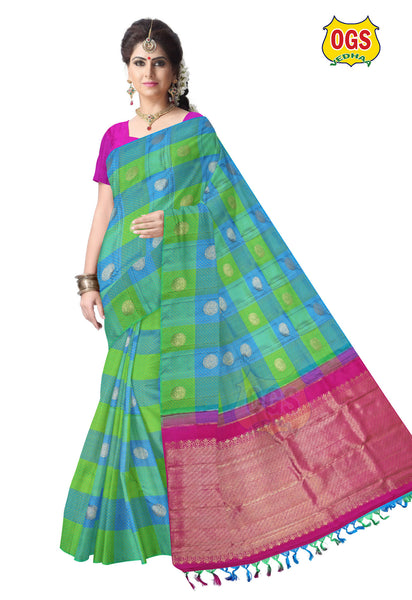 WEDDING SILK SAREE - V32G