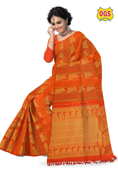 WEDDING SILK SAREE - V32H