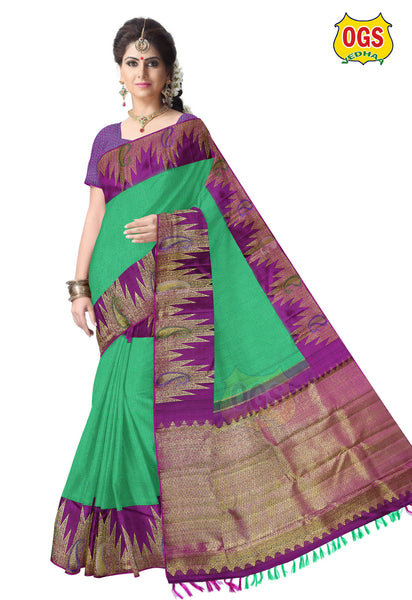 WEDDING SILK SAREE - V32I