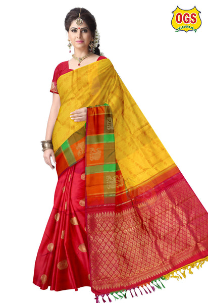 BRIDAL  SILK SAREE - V32M