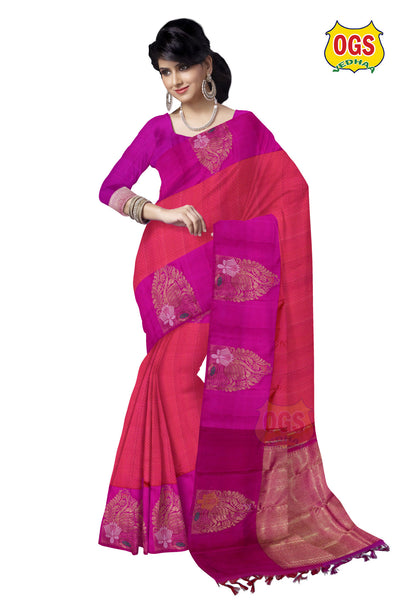 BRIDAL SILK SAREE - V32Z