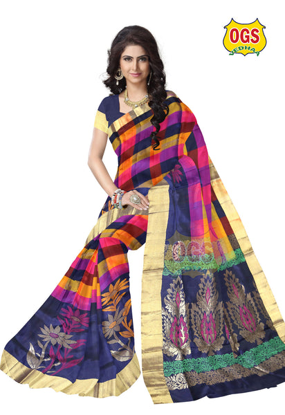 SOFT SILK SAREE - V32O