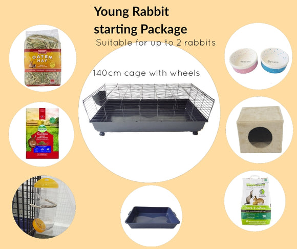 Young Rabbit Start Package (For Rabbits under 6-months-old)