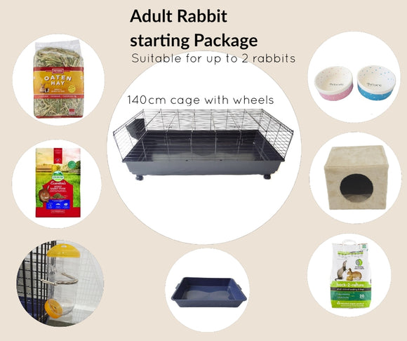 Adult Rabbit Start Package ( for rabbits over 6-months-old)