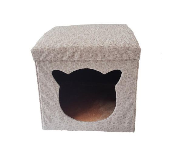 Comfortable Pet Sofa Bed with Fleece Pad