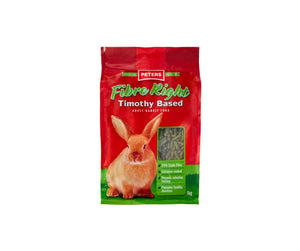 Peters Fibre Right Adult Rabbit food 1kg