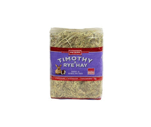 Peters Timothy and Rye Hay 1kg