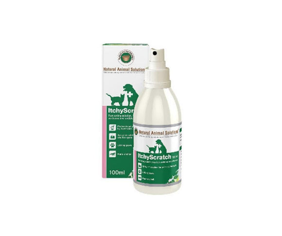 Natural Animal Solution ItchyScratch 100ml