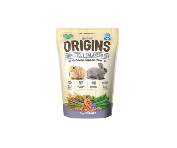 Vetafarm Rabbit Origins food 1.5kg