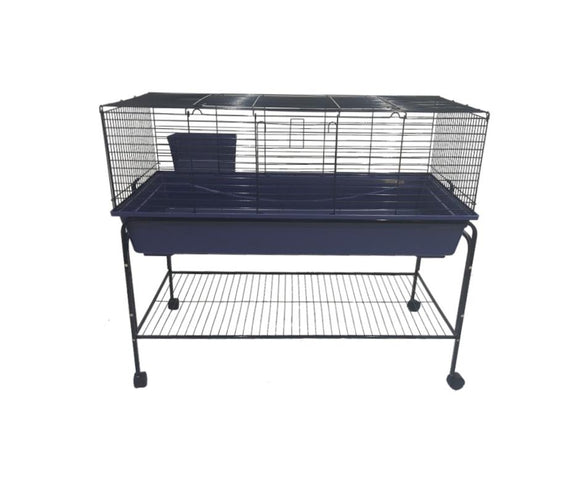 Deluxe 120cm Indoor cage with Stand and wheels