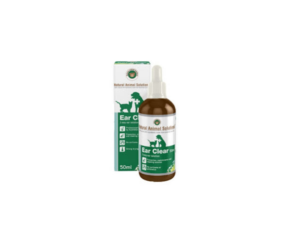 Natural Animal Solution Ear Clear 50ml