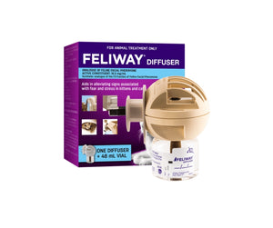 Feliway Diffuser and 48ml refill
